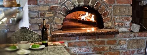 Reštaurácia Anyukám Mondta pec na pizzu
