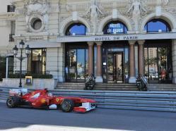 Hôtel de Paris Monaco vchod