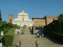 Basilica San Miniato al Monte, Zdroj: commons.wikimedia.org