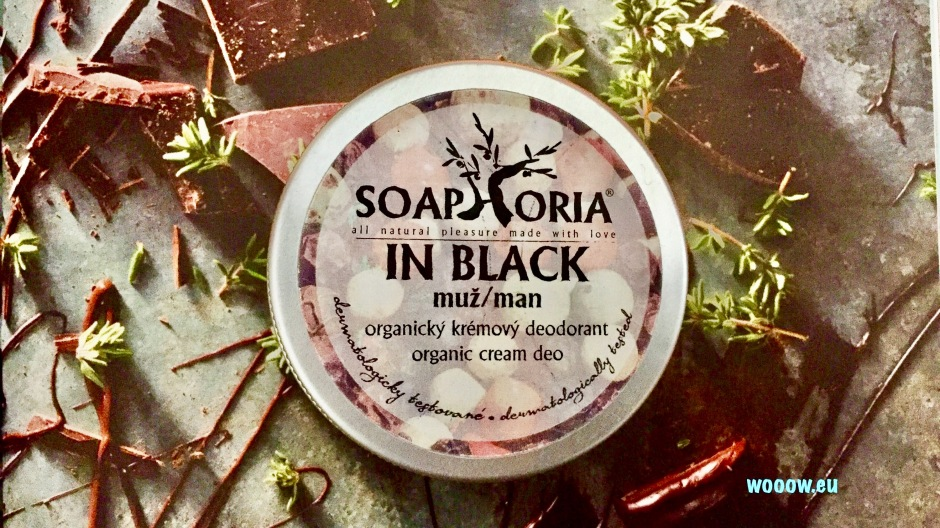 Deodorant Soaphoria In Black