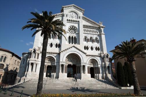 katedrála Notre-Dame-Immaculée (katedrála nepoškvrnenej Matky Božej), Foto: Monaco Press Centre Photos