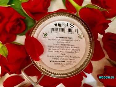 Soaphoria Romantická ruža zloženie