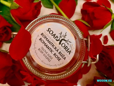 Soaphoria telové suflé Romantická ruža