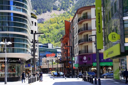Andorra la Vella ulica