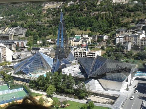 Caldea thermal Spa v Andorre