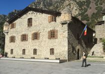 staré sídlo vlády v Andorre