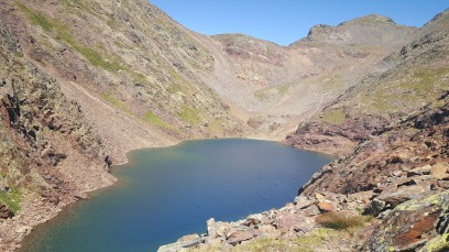 Comapedrosa jazero v Andorre