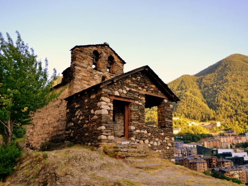 kostol Sant Romá de les Bons v Andorre