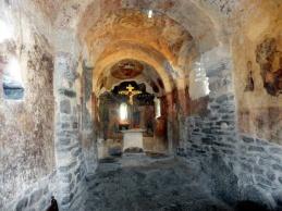 vnútro kostola Sant Romá de les Bons v Andorre