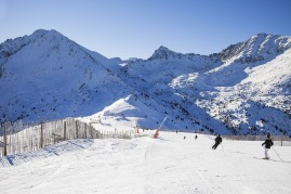 lyžiarske stredisko Andorra