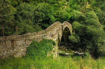 Pont de la Margineda v Andorre