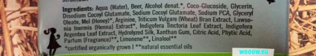 Sante šampón zloženie