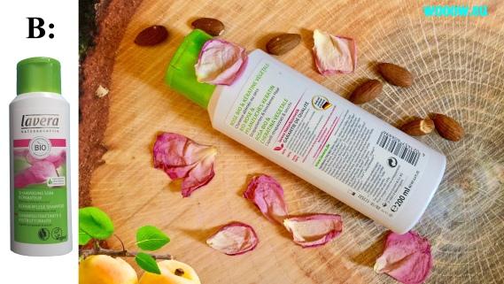 šampón Lavera Bio mandľa & bio hamamel