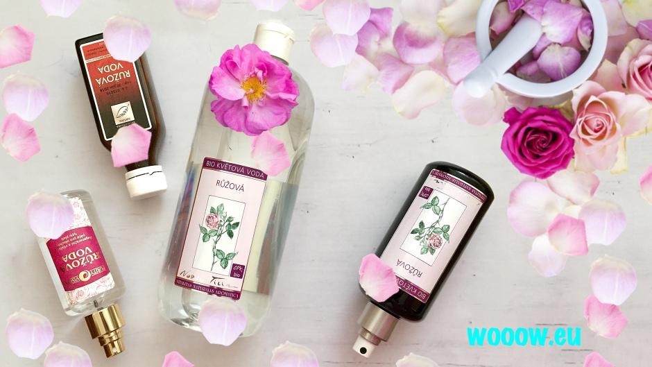 Ružová voda - hydrolát