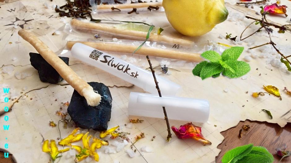 Siwak 100% prírodné zubné kefky